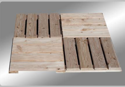 Read more: Square decking